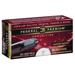 22 LR PREMIUM HP HUNTERMATCH 40 GR