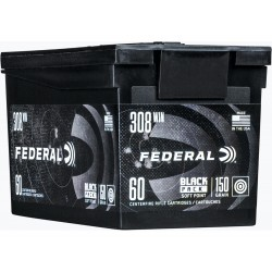 308 WIN 150 GR SP BLACK PACK (60ks)