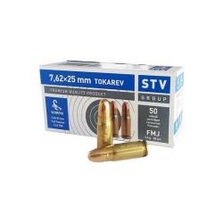 STV Scorpio 7,62x25 Tokarev 85gr FMJ
