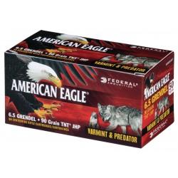 6,5 Grendel, American Eagle JHP 90gr