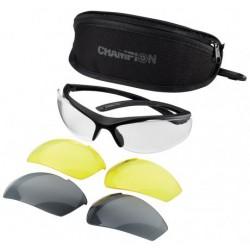 Balistické střelecké brýle Champion – výměnná skla